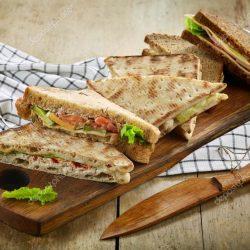 Háromszög szendvicsek