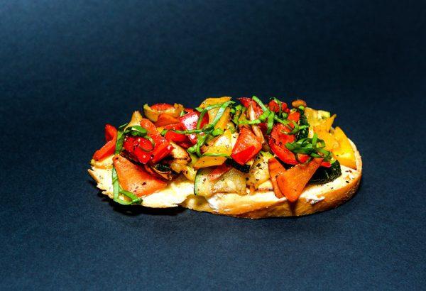 Grillzöldséges szendvics