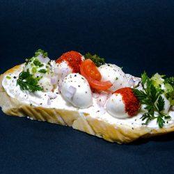 Mozzarellás szendvics