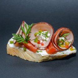 Pulykasonkás szendvics